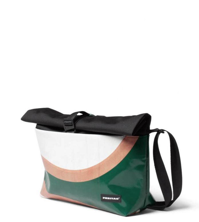 Freitag Freitag ToP Bag Rollin green/orange/white
