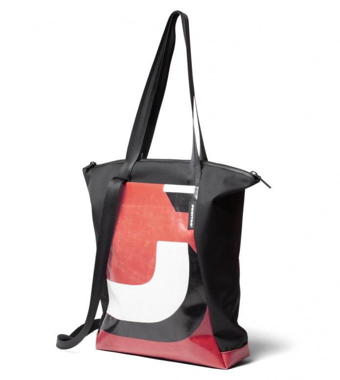 Freitag Freitag ToP Tote Bag Davian black/red/white/black