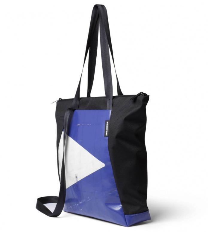 Freitag Freitag ToP Tote Bag Davian blue/white