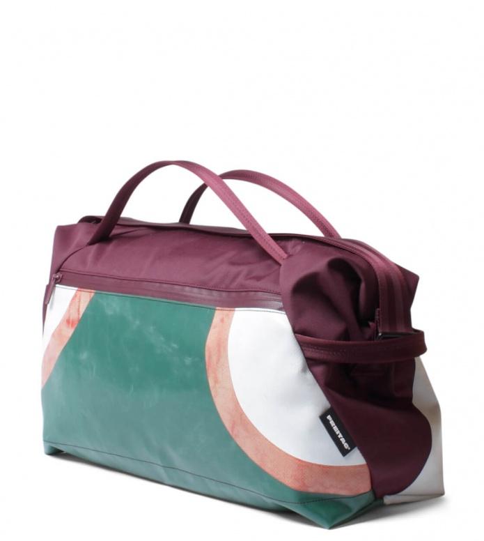 Freitag Freitag ToP Sportsbag Jimmy red marsala/green/red/white