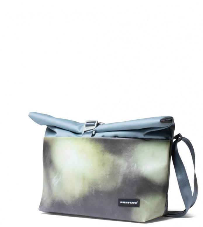 Freitag Freitag ToP Bag Rollin blue foggy/green/brown