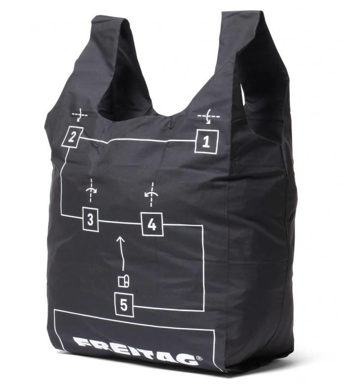Freitag Freitag ToP Shopping Bag Jack grey/silver
