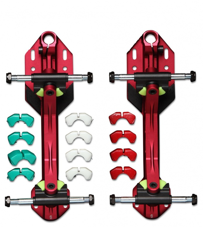 Power Dyne PowerDyne Plates Arius red/black