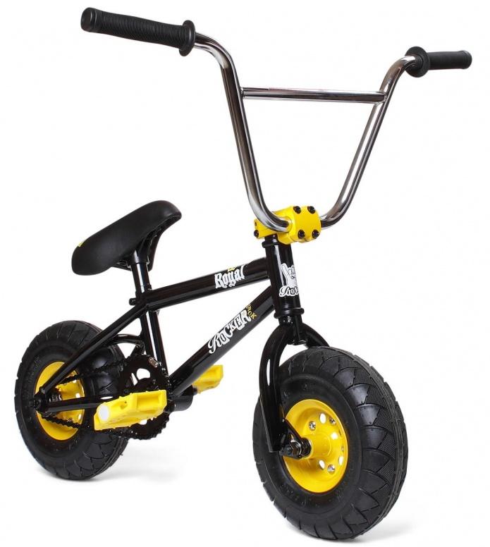 Rocker Rocker Mini BMX Irok+ Royal black/yellow