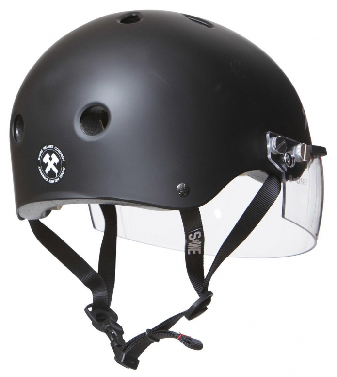 S1 S1 Helmet S1 Lifer Visor black matte