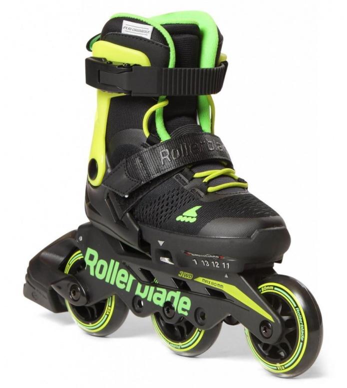 Rollerblade Rollerblade Kids Microblade 3WD black/green