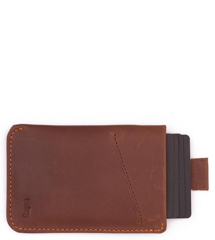 Bellroy Bellroy Wallet Card Sleeve brown cocoa