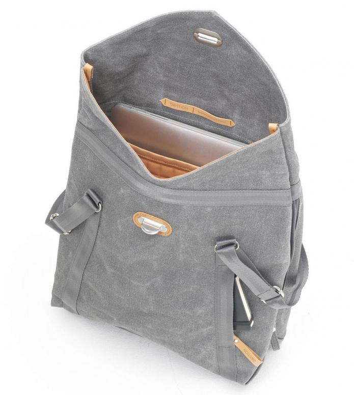 Qwstion Qwstion Bag Tote washed grey