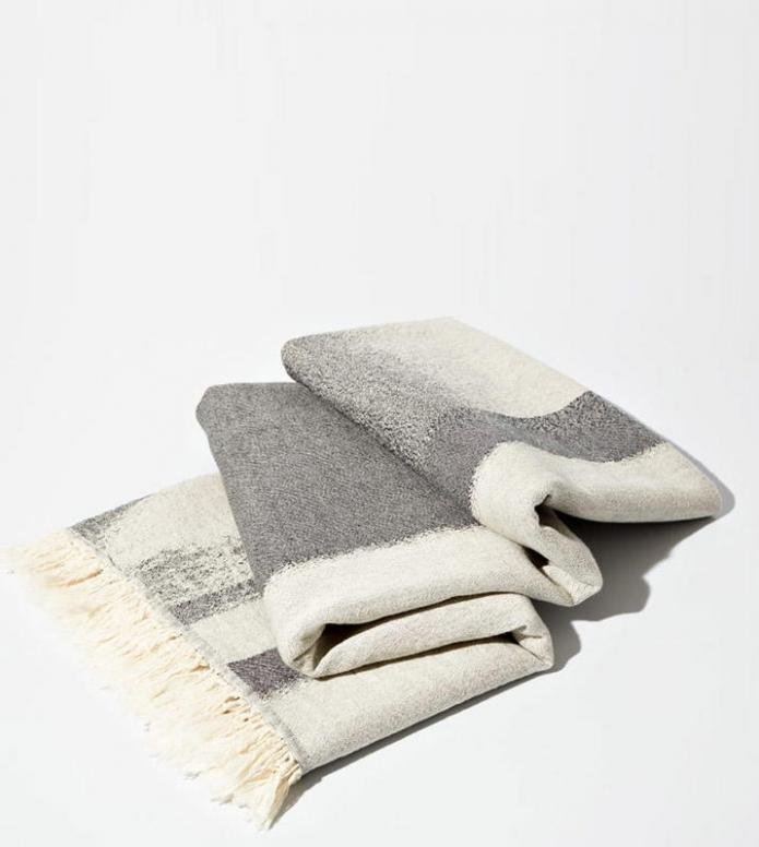 Schoenstaub Schoenstaub Hammam Towel Repetition grey