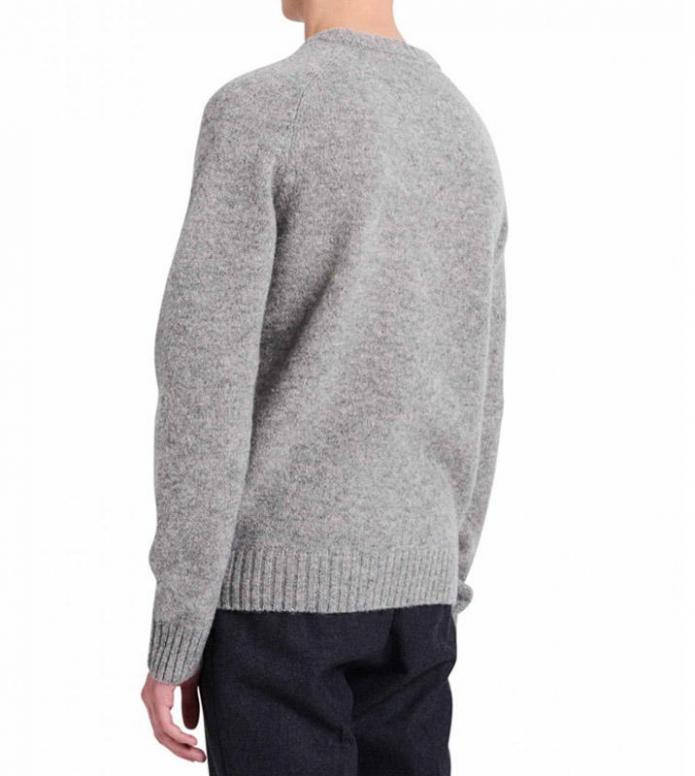 Wood Wood Wood Wood Sweater Kevin grey light melange