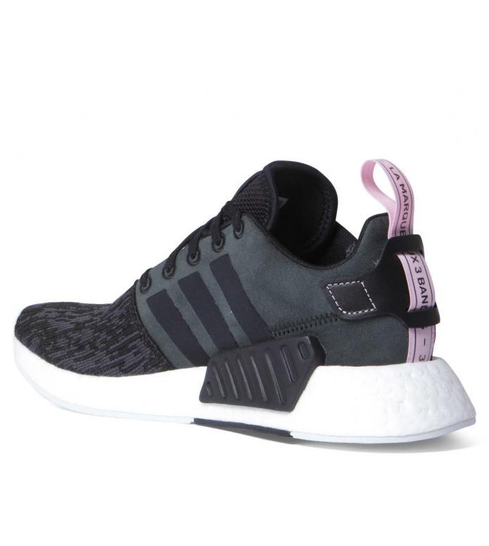 adidas Originals Adidas W Shoes NMD R2 black core/core black/wonder pink