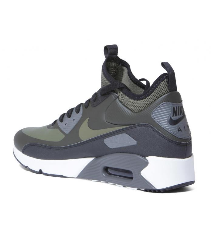 Nike Nike Shoes Air Max 90 Mid WNTR green sequoia/medium olive-black