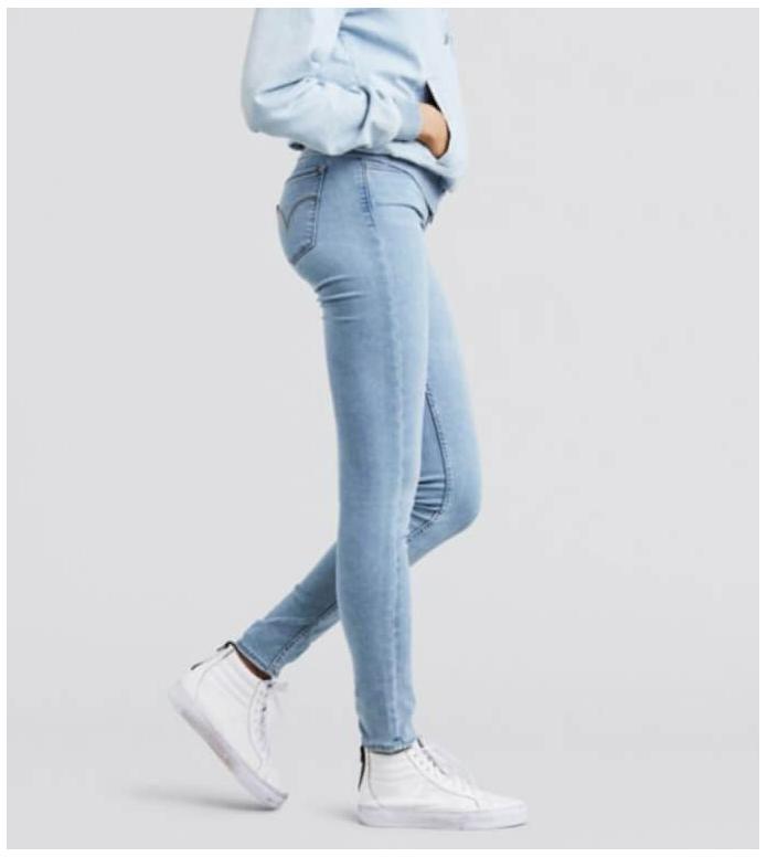 Levis Levis W Jeans 710 Innovation Super Skimny blue winning streak