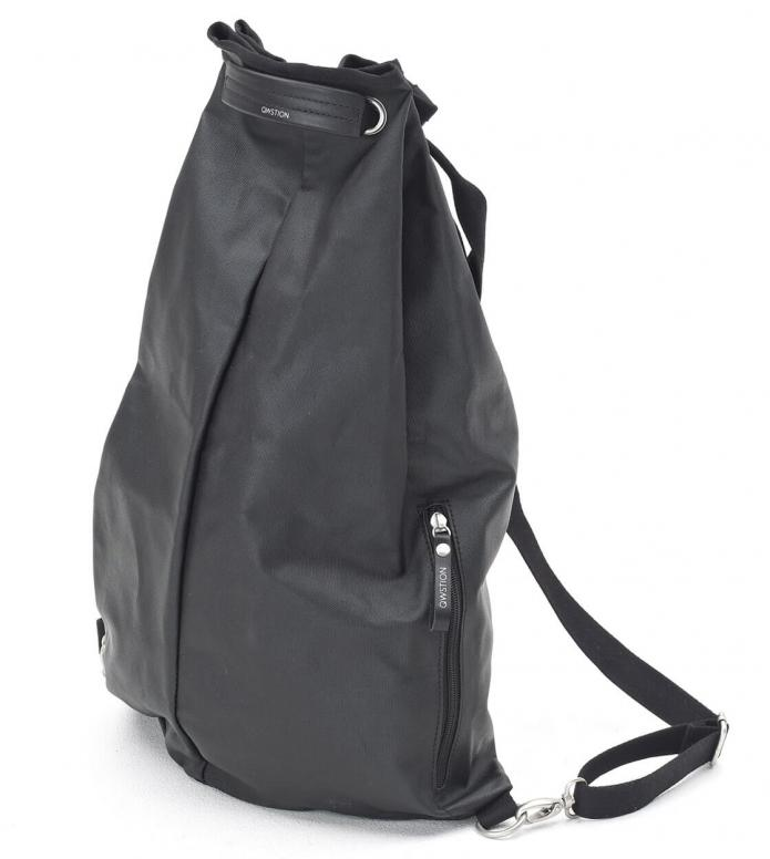 Qwstion Qwstion Gymbag Simple Bag organic jet black