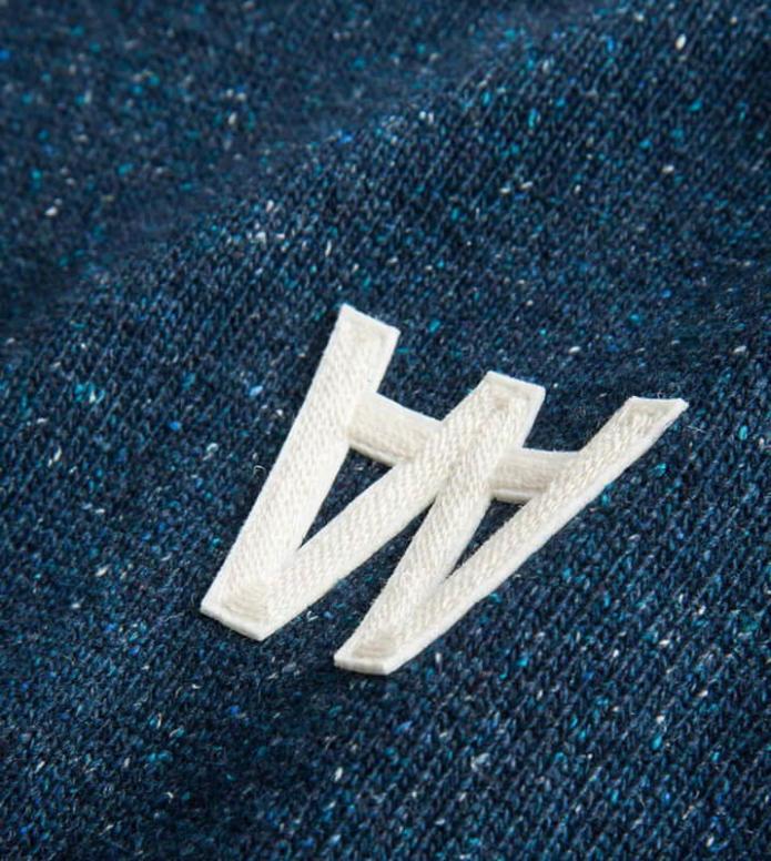 Wood Wood Wood Wood Knit Pullover Samuel blue navy