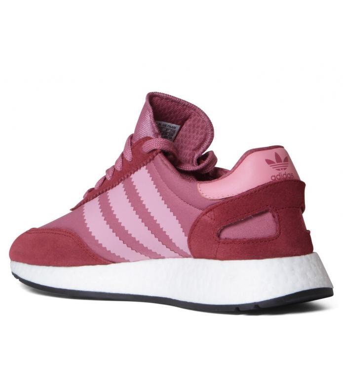 adidas Originals Adidas W Shoes Iniki Runner red trace maroon/superpop/noble maroon