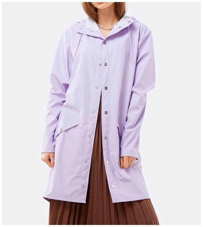 Rains Rains Rainjacket Long purple lavender