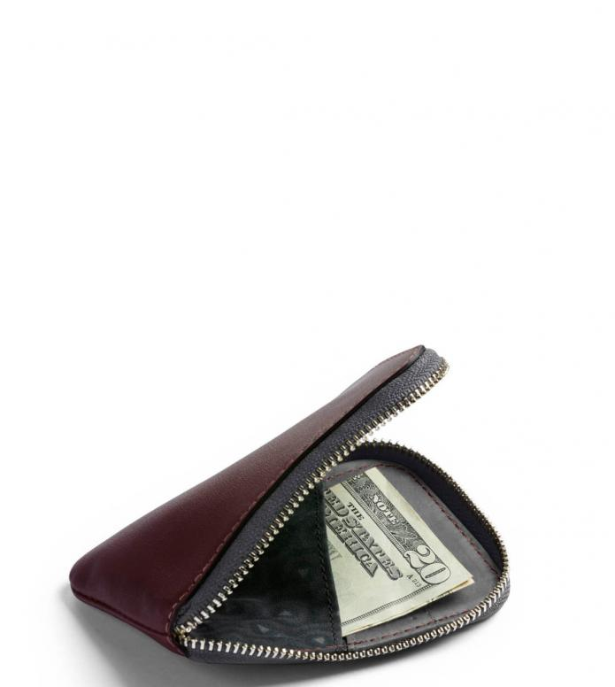 Bellroy Bellroy Wallet Card Pocket red wine