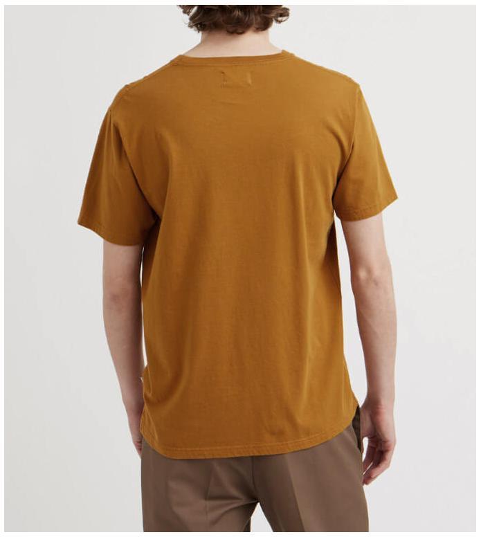Wood Wood Wood Wood T-Shirt Box brown mustard