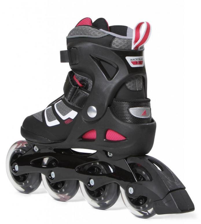 Rollerblade Rollerblade W Macroblade 90 black/cherry