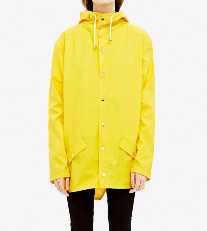 Rains Rains Rainjacket Short yellow