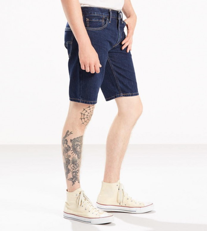 Levis Levis Shorts 511 Slim Hemmed blue the the