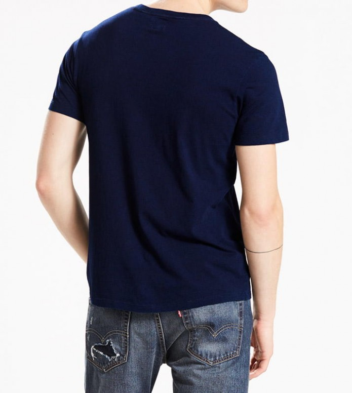 Levis Levis T-Shirt Setin Sunset Pocket blue saturated indigo