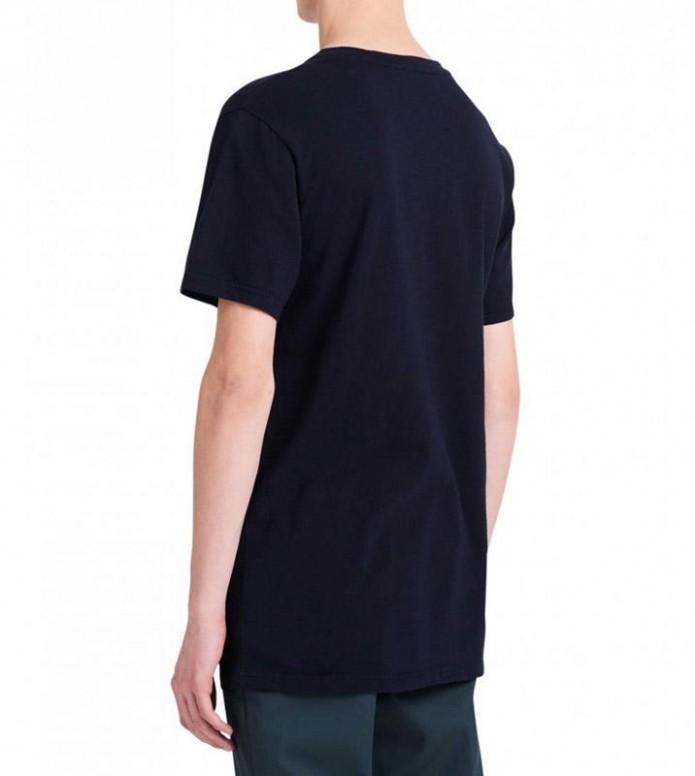 Wood Wood Wood Wood T-Shirt Slater blue navy