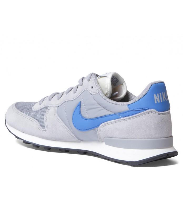 Nike Nike Shoes Internationalist grey matte silver/blue spark-sail