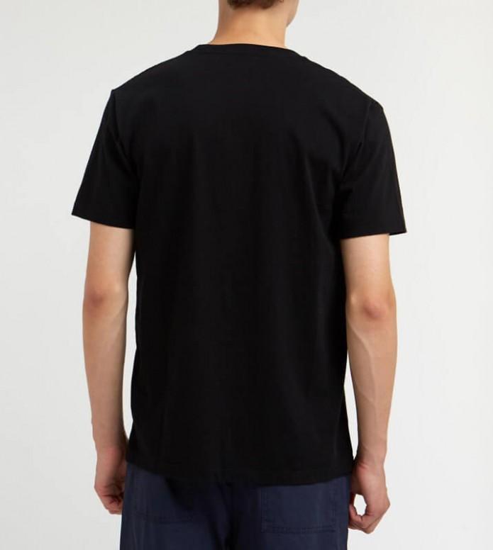Wood Wood Wood Wood T-Shirt Box black