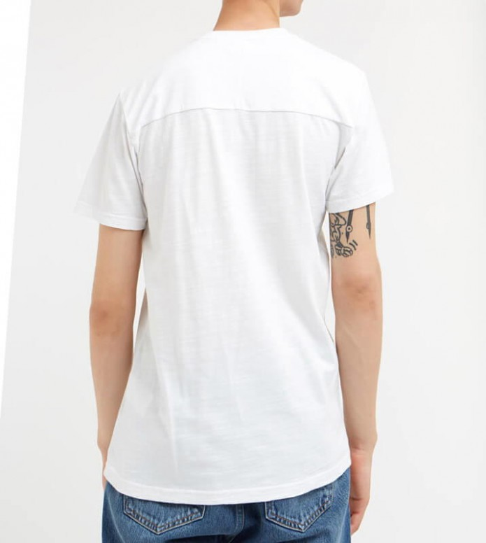 Wood Wood Wood Wood T-Shirt Perry white bright