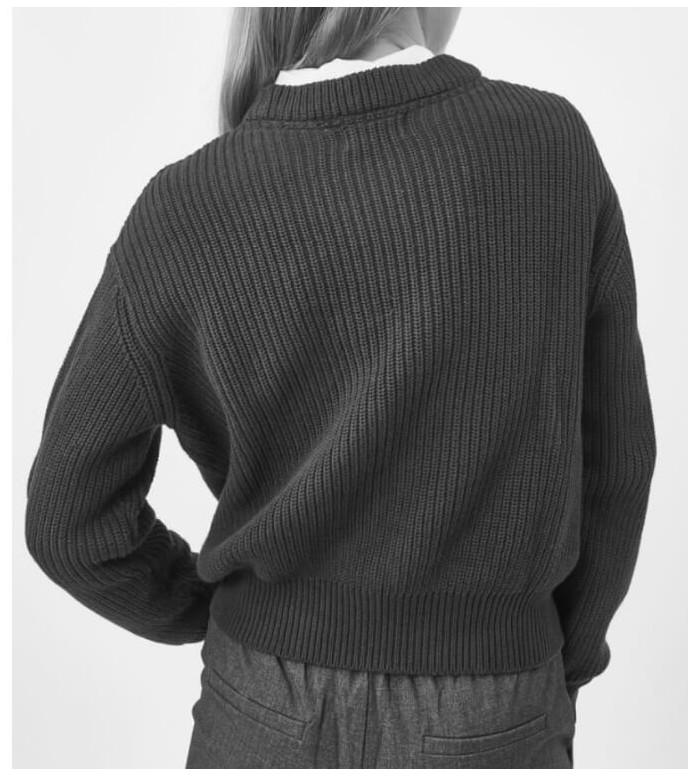 Minimum Minimum W Knit Mikala grey light melange