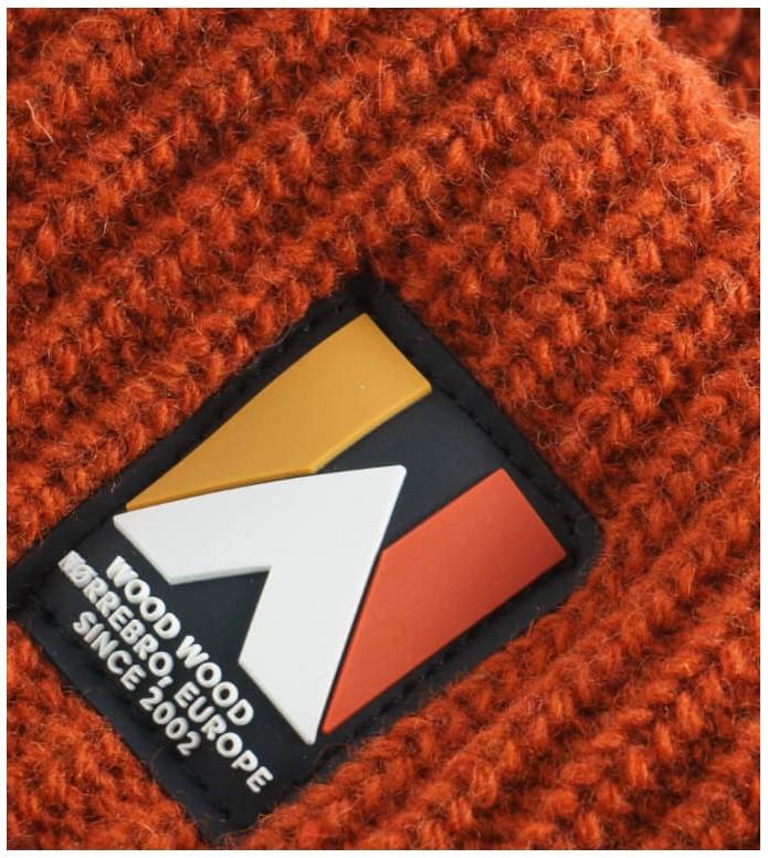 Wood Wood Wood Wood Headband Eda orange