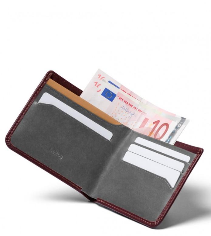 Bellroy Bellroy Wallet Hide & Seek LO RFID red wine