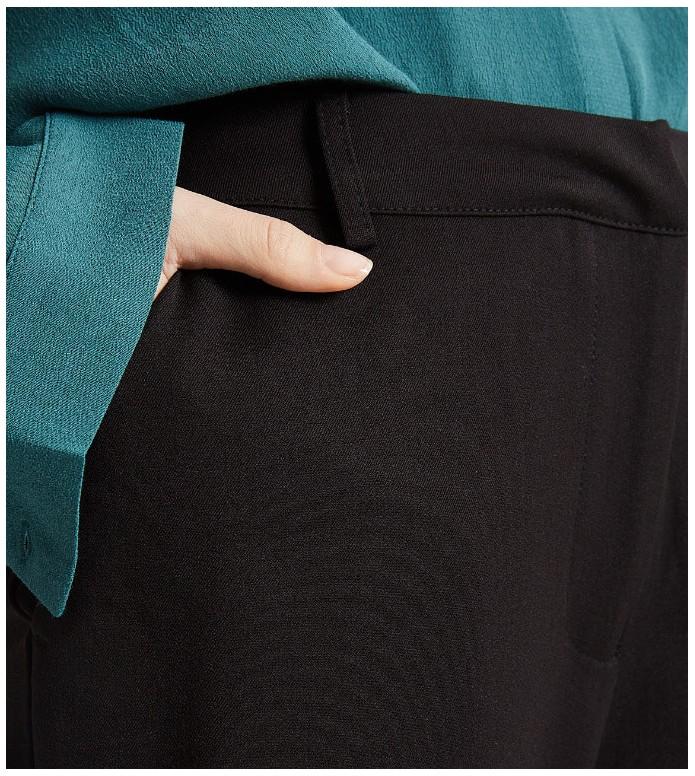 Minimum Minimum W Pants Culotta blue navy blazer
