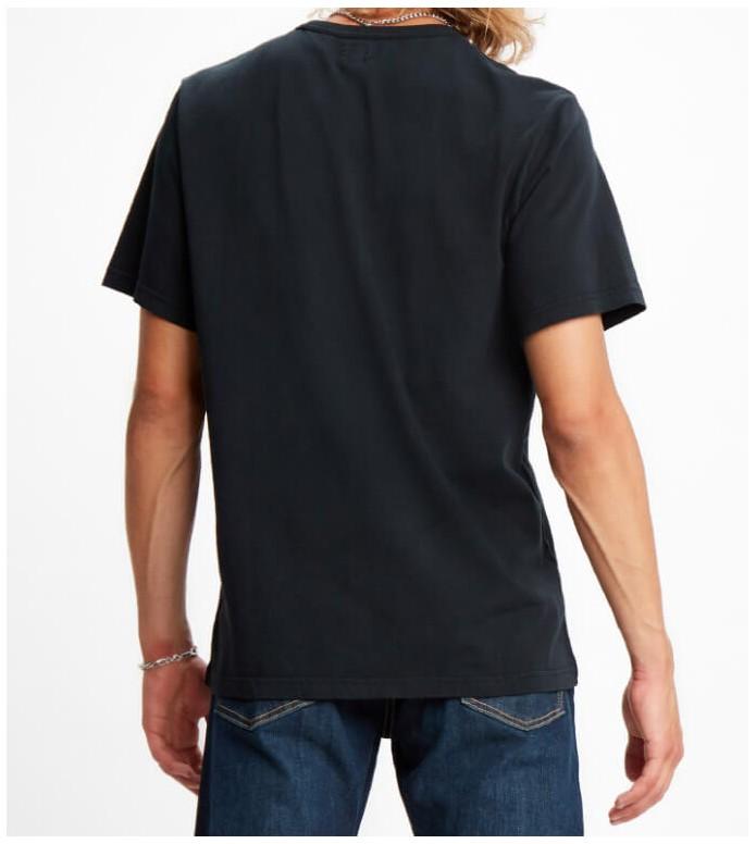 Levis Levis T-Shirt Authentic Crewneck black mineral