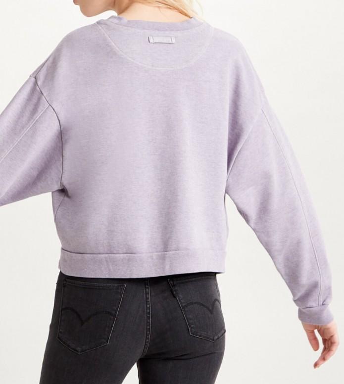 Levis Levis W Sweater Diana Crewneck purple lavender frost