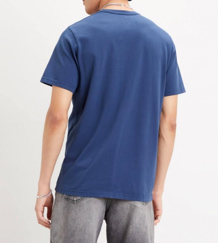 Levis Levis T-Shirt Authentic Crewneck blue garment dress