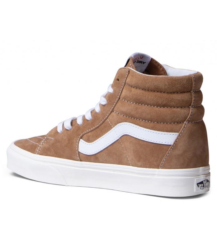 Vans Vans W Shoes Sk8-Hi brown sugar/snow white