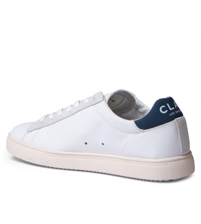 Clae Clae Shoes Bradley white ensign blue