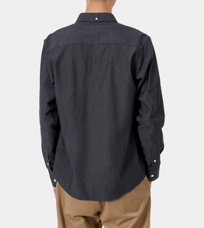 Carhartt WIP Carhartt WIP Shirt Dalton grey huskey heavy rinsed