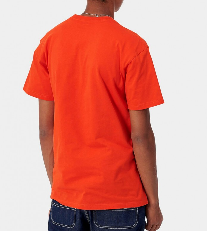 Carhartt WIP Carhartt WIP T-Shirt Chase orange safety/gold