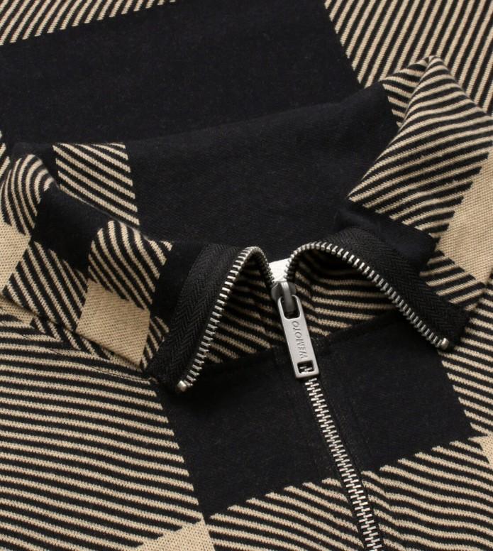 Wemoto Wemoto W Pullover Christo beige sand-black