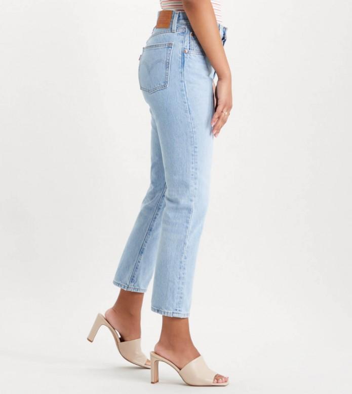 Levis Levis W Jeans 501 Crop blue luxor