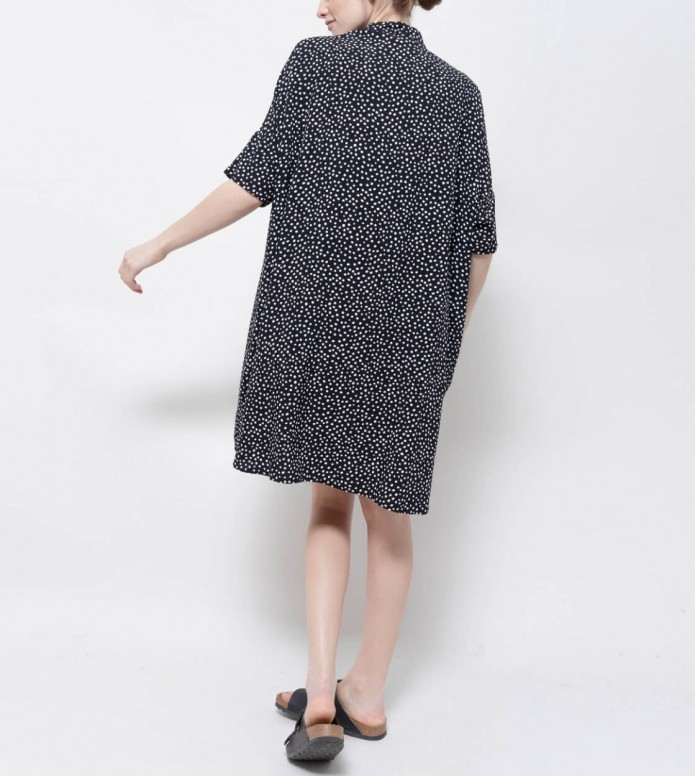 Wemoto Wemoto W Dress Hume black/white