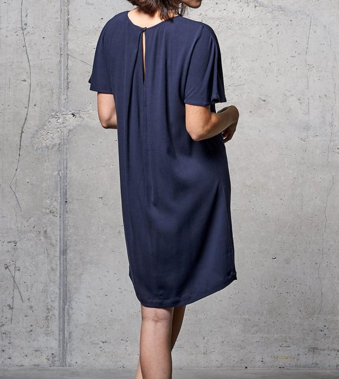 Wemoto Wemoto W Dress Byron blue navy