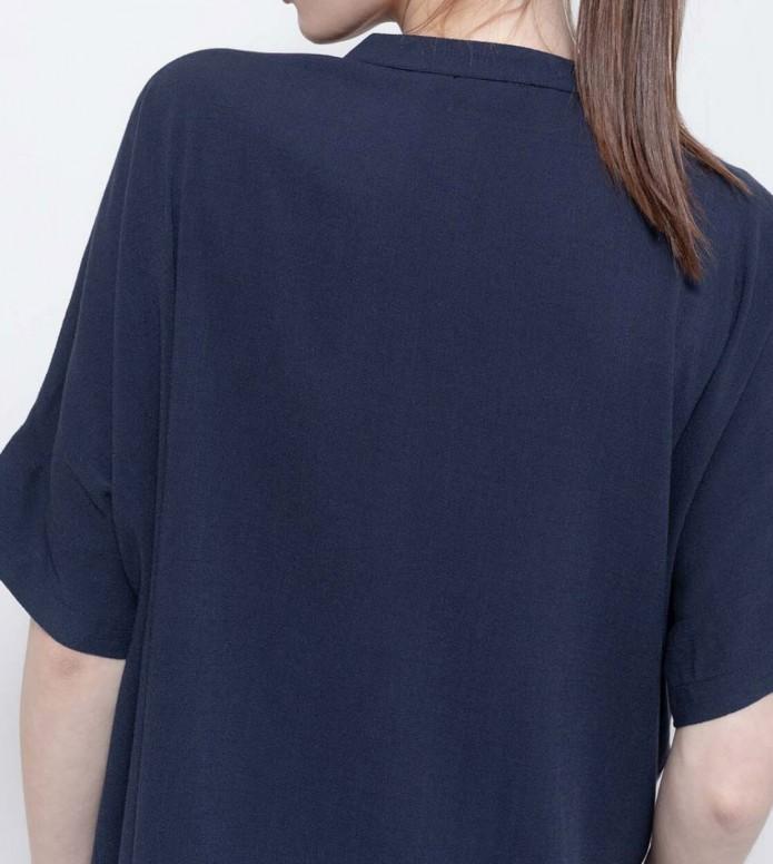 Wemoto Wemoto W Shirt Polly blue navy
