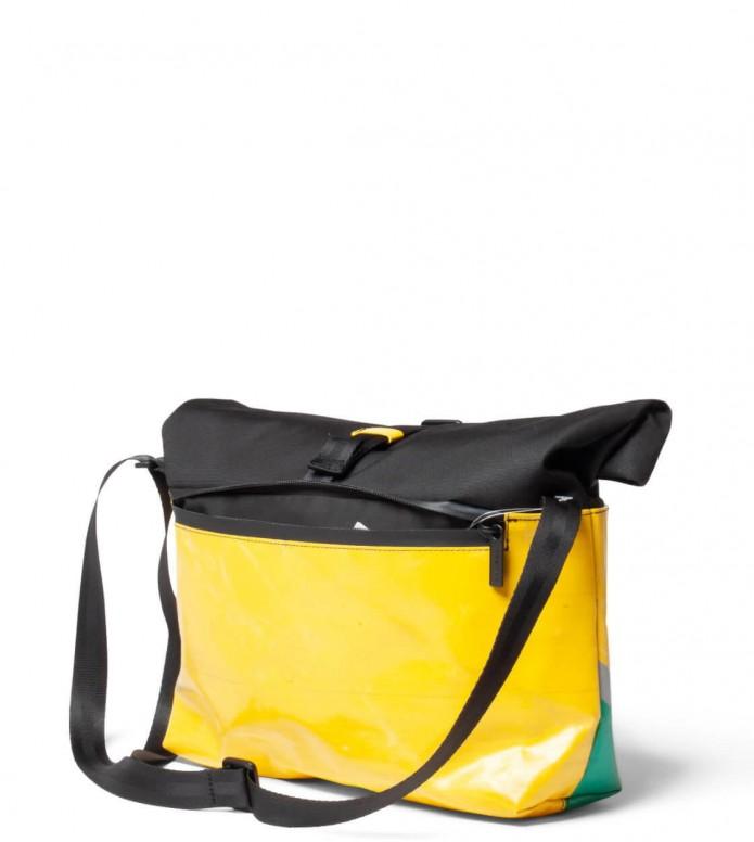Freitag Freitag ToP Bag Rollin black/yellow/green/grey