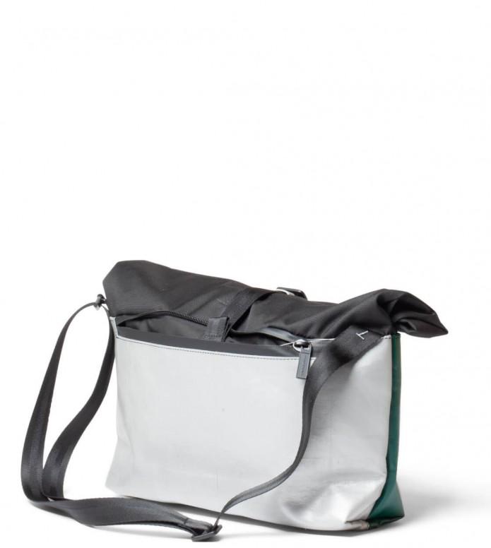 Freitag Freitag ToP Bag Rollin black/silver/green