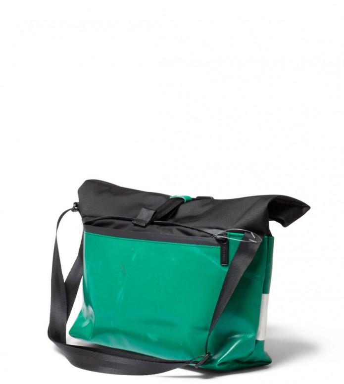 Freitag Freitag ToP Bag Rollin black/green/white